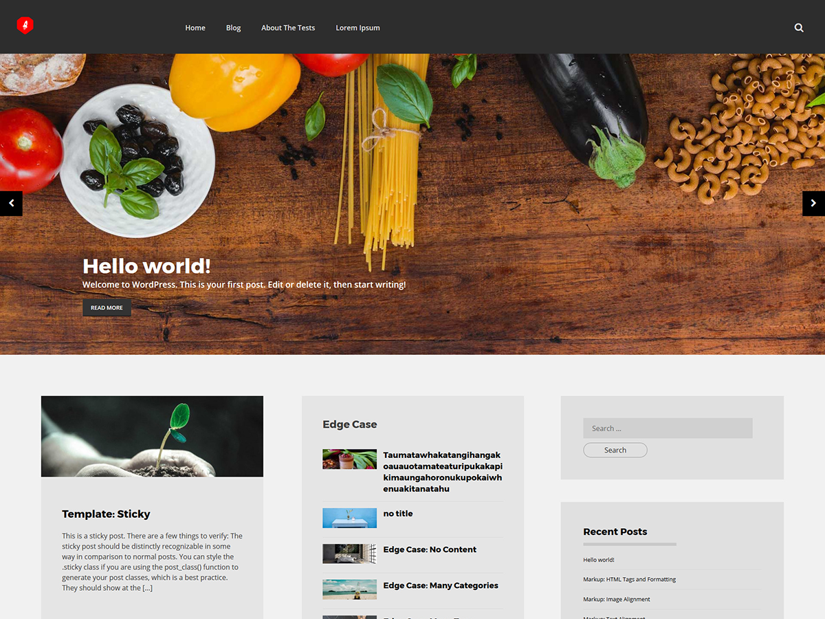 Traza Preview Wordpress Theme - Rating, Reviews, Preview, Demo & Download