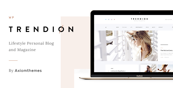 Trendion Preview Wordpress Theme - Rating, Reviews, Preview, Demo & Download