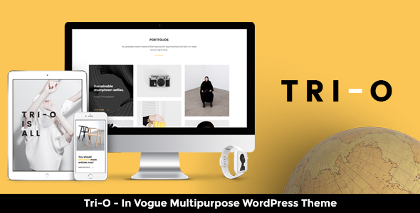 Tri Preview Wordpress Theme - Rating, Reviews, Preview, Demo & Download