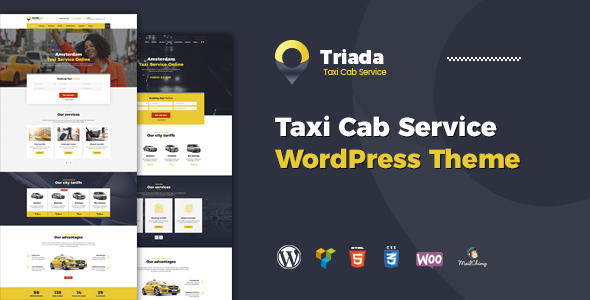 Triada Preview Wordpress Theme - Rating, Reviews, Preview, Demo & Download