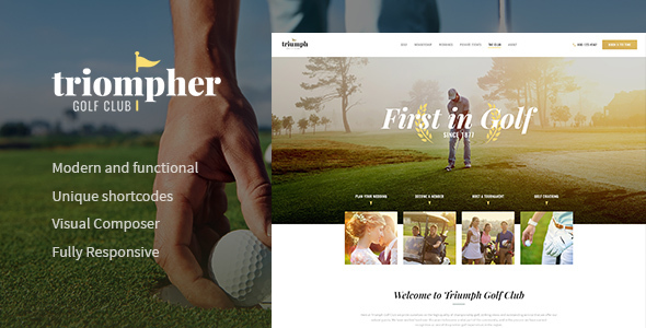 Triompher Preview Wordpress Theme - Rating, Reviews, Preview, Demo & Download
