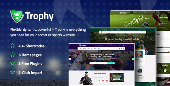 Trophy Preview Wordpress Theme - Rating, Reviews, Preview, Demo & Download