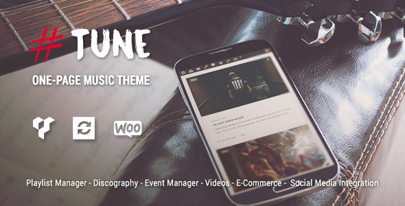 Tune Preview Wordpress Theme - Rating, Reviews, Preview, Demo & Download