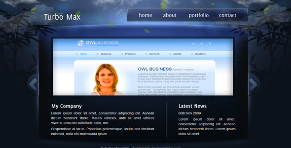 TurboMax Preview Wordpress Theme - Rating, Reviews, Preview, Demo & Download
