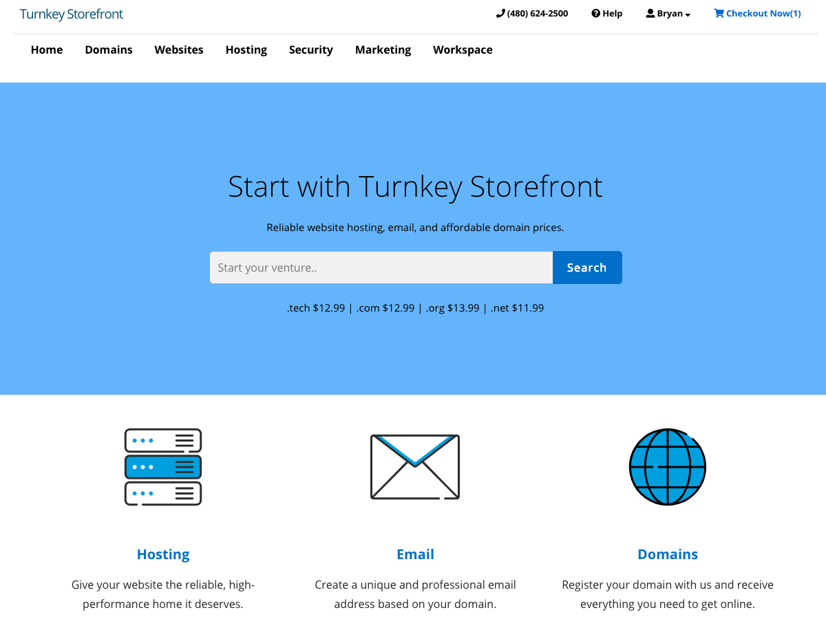 Turnkey Storefront Preview Wordpress Theme - Rating, Reviews, Preview, Demo & Download