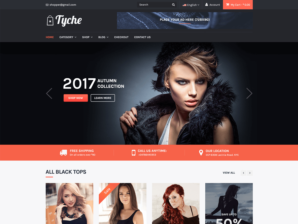 Tyche Preview Wordpress Theme - Rating, Reviews, Preview, Demo & Download