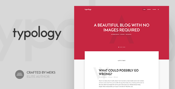 Typology Preview Wordpress Theme - Rating, Reviews, Preview, Demo & Download