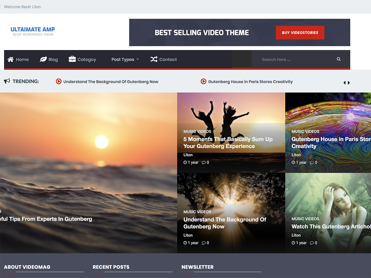 Ultimate AMP Preview Wordpress Theme - Rating, Reviews, Preview, Demo & Download