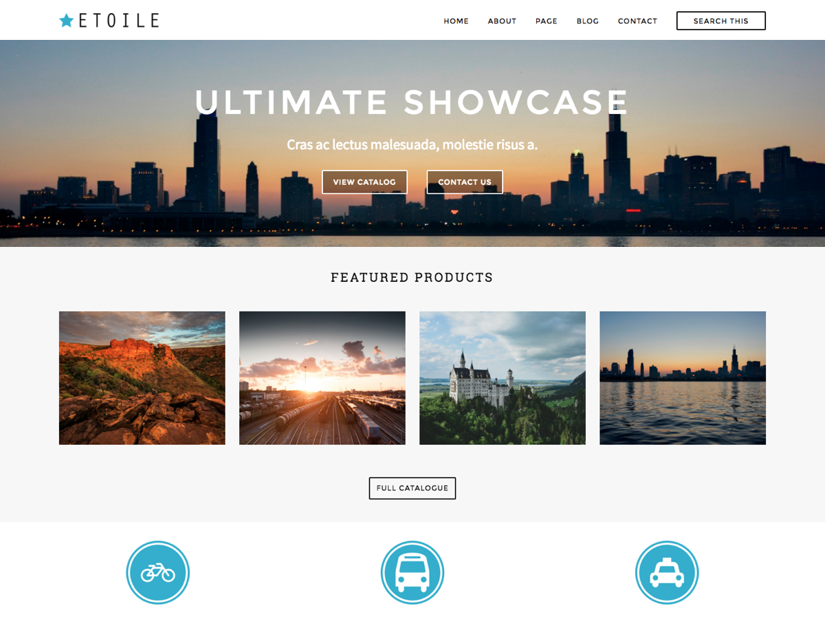 Ultimate Showcase Preview Wordpress Theme - Rating, Reviews, Preview, Demo & Download