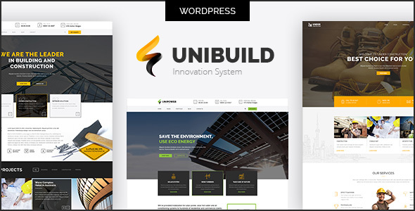 Unibuild Preview Wordpress Theme - Rating, Reviews, Preview, Demo & Download