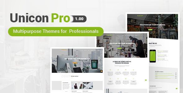 Unicon Pro Preview Wordpress Theme - Rating, Reviews, Preview, Demo & Download