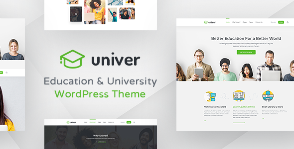 Univer Preview Wordpress Theme - Rating, Reviews, Preview, Demo & Download