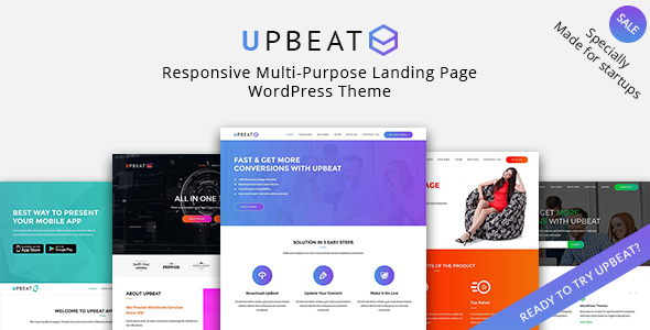 Upbeat Preview Wordpress Theme - Rating, Reviews, Preview, Demo & Download