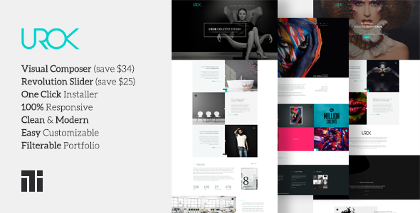 UROK Preview Wordpress Theme - Rating, Reviews, Preview, Demo & Download