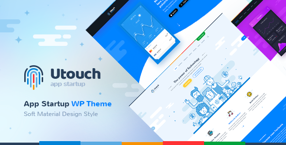 Utouch Preview Wordpress Theme - Rating, Reviews, Preview, Demo & Download