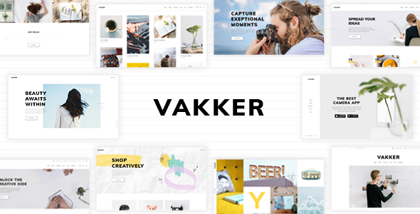 Vakker Preview Wordpress Theme - Rating, Reviews, Preview, Demo & Download