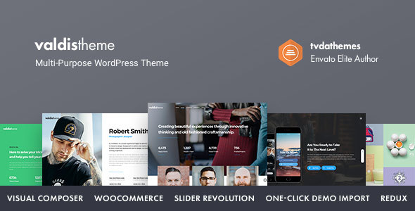 Valdis Preview Wordpress Theme - Rating, Reviews, Preview, Demo & Download