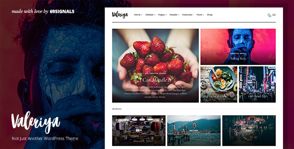 Valeriya Preview Wordpress Theme - Rating, Reviews, Preview, Demo & Download