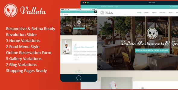 Valleta Preview Wordpress Theme - Rating, Reviews, Preview, Demo & Download
