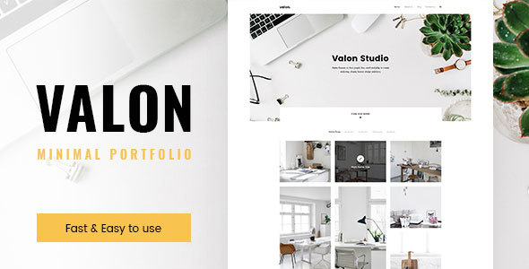 Valon Preview Wordpress Theme - Rating, Reviews, Preview, Demo & Download