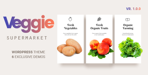 Veggie Preview Wordpress Theme - Rating, Reviews, Preview, Demo & Download