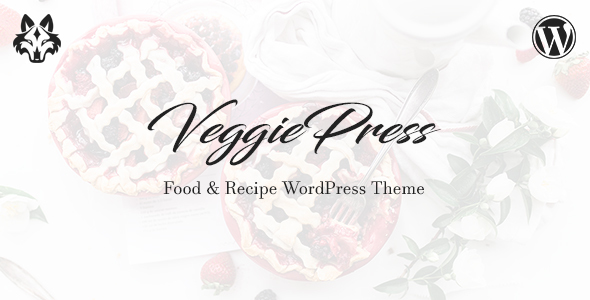 VeggiePress Preview Wordpress Theme - Rating, Reviews, Preview, Demo & Download