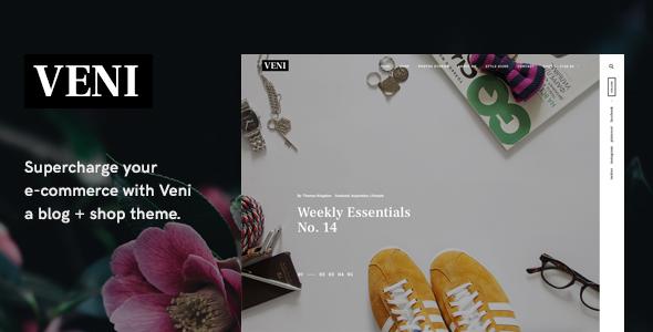 Veni Preview Wordpress Theme - Rating, Reviews, Preview, Demo & Download
