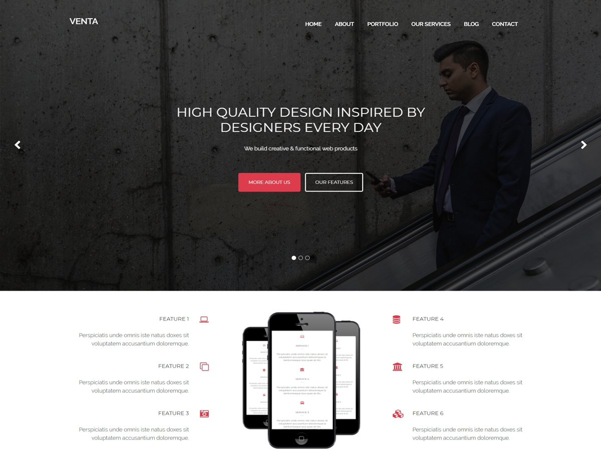 Venta Preview Wordpress Theme - Rating, Reviews, Preview, Demo & Download