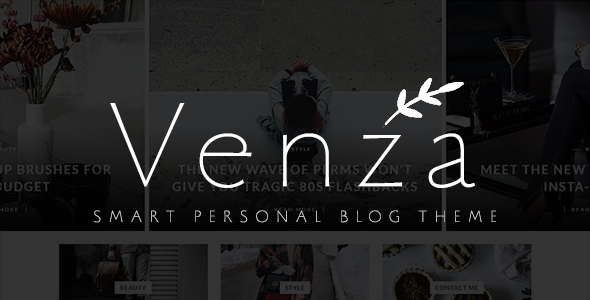 Venza Preview Wordpress Theme - Rating, Reviews, Preview, Demo & Download