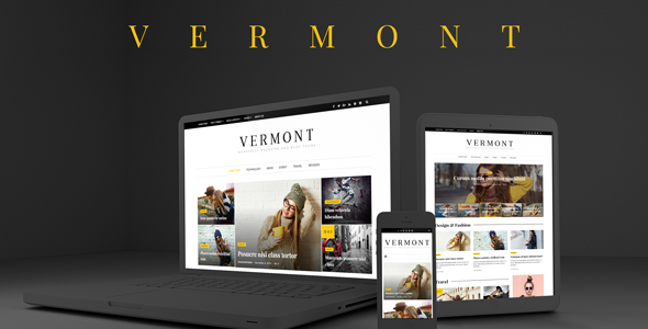 Vermont Preview Wordpress Theme - Rating, Reviews, Preview, Demo & Download