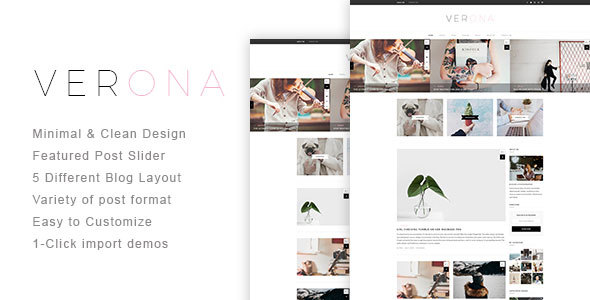 Verona Preview Wordpress Theme - Rating, Reviews, Preview, Demo & Download