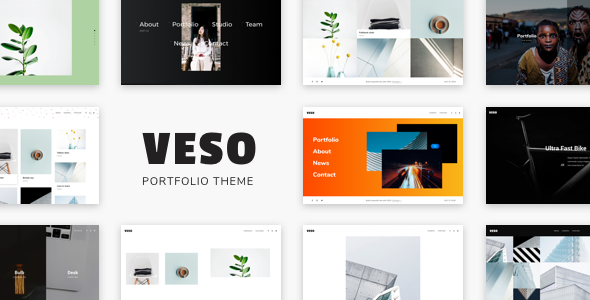 Veso Preview Wordpress Theme - Rating, Reviews, Preview, Demo & Download