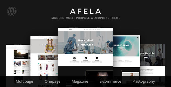 VG Afela Preview Wordpress Theme - Rating, Reviews, Preview, Demo & Download
