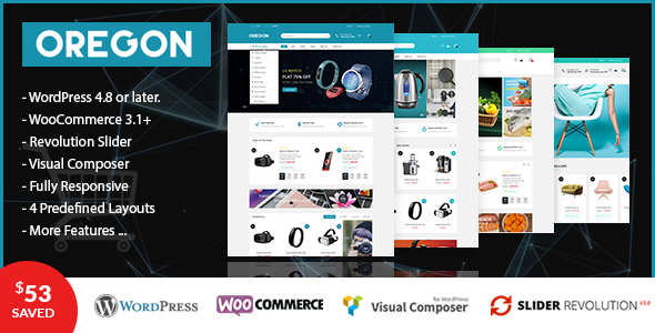 VG Oregon Preview Wordpress Theme - Rating, Reviews, Preview, Demo & Download