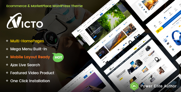 Victo Preview Wordpress Theme - Rating, Reviews, Preview, Demo & Download