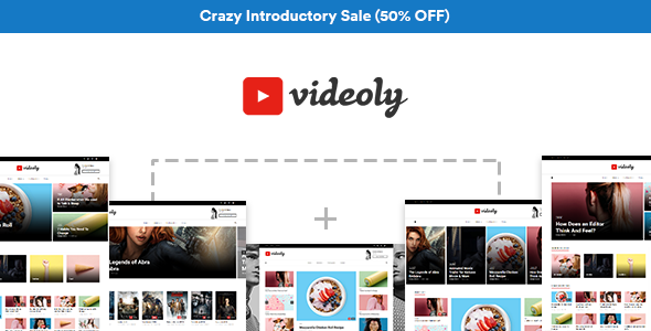 Videoly Preview Wordpress Theme - Rating, Reviews, Preview, Demo & Download