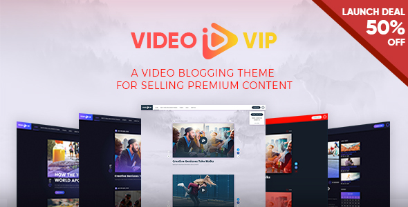 VideoVip Preview Wordpress Theme - Rating, Reviews, Preview, Demo & Download