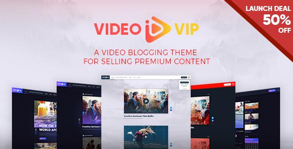 VideoVip Preview Wordpress Theme - Rating, Reviews, Preview, Demo & Download