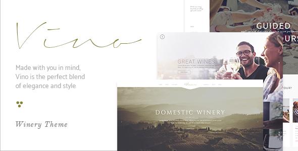 Vino Preview Wordpress Theme - Rating, Reviews, Preview, Demo & Download