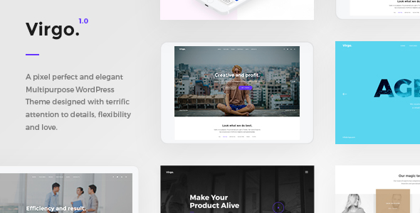 Virgo Preview Wordpress Theme - Rating, Reviews, Preview, Demo & Download