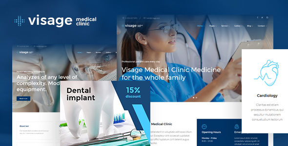 Visage Preview Wordpress Theme - Rating, Reviews, Preview, Demo & Download