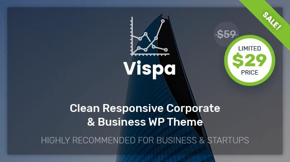 Vispa For Preview Wordpress Theme - Rating, Reviews, Preview, Demo & Download