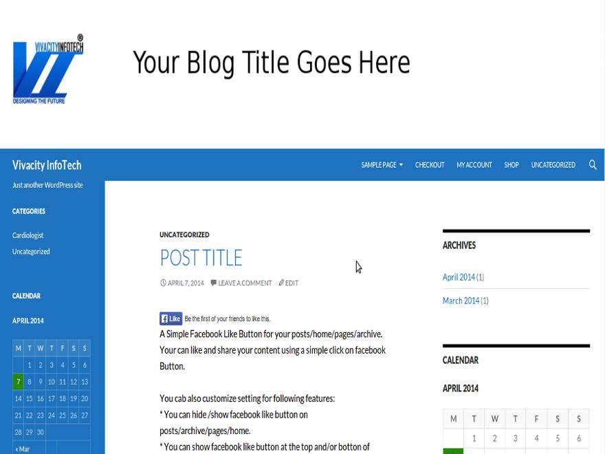 Vivacity Preview Wordpress Theme - Rating, Reviews, Preview, Demo & Download