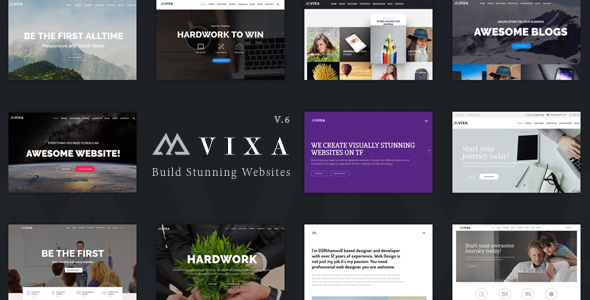 Vixa Preview Wordpress Theme - Rating, Reviews, Preview, Demo & Download