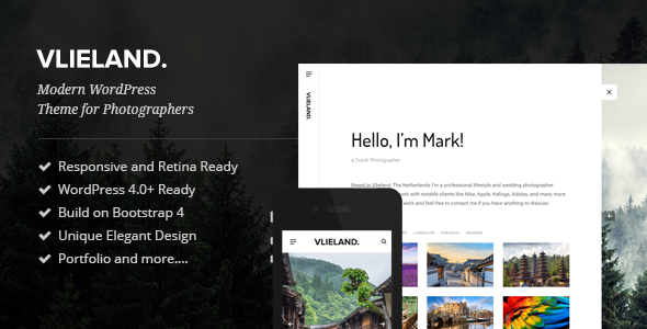 Vlieland Preview Wordpress Theme - Rating, Reviews, Preview, Demo & Download