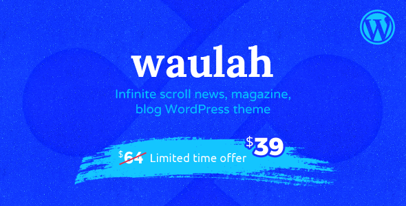 Waulah Preview Wordpress Theme - Rating, Reviews, Preview, Demo & Download