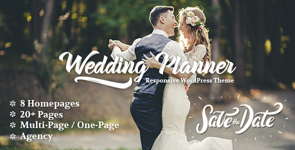 Wedding Planner Preview Wordpress Theme - Rating, Reviews, Preview, Demo & Download