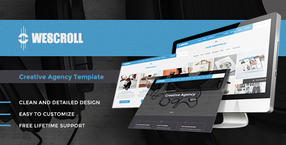 WeScroll Preview Wordpress Theme - Rating, Reviews, Preview, Demo & Download