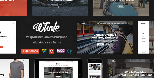Whole Preview Wordpress Theme - Rating, Reviews, Preview, Demo & Download