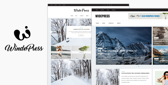 Wide Preview Wordpress Theme - Rating, Reviews, Preview, Demo & Download